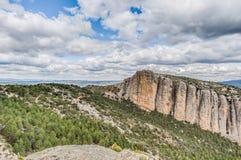 Penarroya peak at Teruel, Spain Stock Image