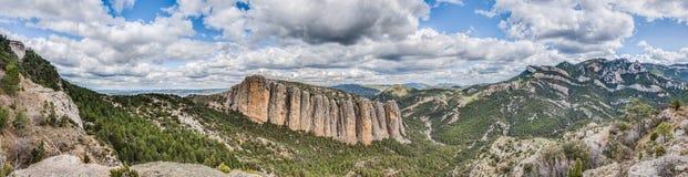 Penarroya peak at Teruel, Spain Royalty Free Stock Photography