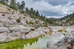 Penarroya peak at Teruel, Spain Stock Image