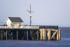 Penarth码头,威尔士,英国 免版税库存照片
