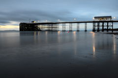Penarth Pier lizenzfreies stockfoto