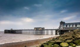 Penarth pier. Shot at penarth beach  Cardiff, Wales Stock Photography