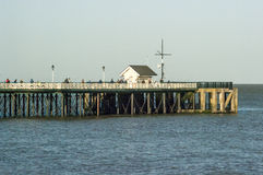 Penarth pir, Wales, UK Royaltyfria Bilder