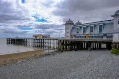 Penarth, Wales - May 21, 2017: Penarth Pier Pavillion Stock Images