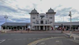 Penarth, Wales - May 21, 2017: Penarth Pier Pavillion Royalty Free Stock Photos