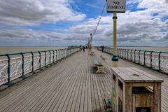 Penarth, Wales - May 21, 2017:  On Penarth Pier Stock Images