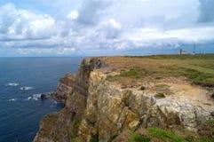 Penas Cape in Asturias,. Spain royalty free stock photo