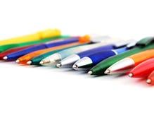 Penas coloridas Fotos de Stock Royalty Free