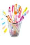 Penas coloridas Foto de Stock