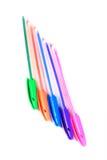 Penas coloridas Fotos de Stock