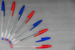 Penas coloridas Imagens de Stock