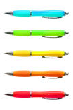 Penas brilhantes coloridas Fotografia de Stock Royalty Free