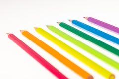 Penas de Colorfull Foto de Stock Royalty Free