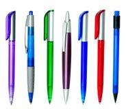 Penas de esfera Multi-coloured Fotos de Stock