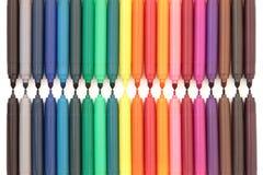 Penas de ponta de feltro Imagem de Stock Royalty Free