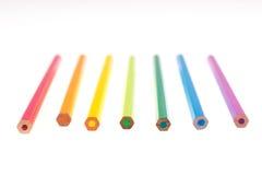 Penas do arco-íris Imagem de Stock