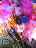 Penas e ballons Fotos de Stock