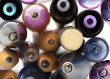 Penas e lápis Fotografia de Stock Royalty Free