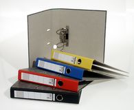 Penas, pino, pinos, escola, secretária Fotos de Stock