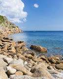Penberth Cornwall England Royalty Free Stock Photo