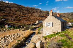 Penberth Cove Cornwall England Stock Photography