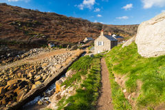 Penberth Cove Cornwall England Royalty Free Stock Photography