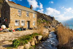 Penberth Cove Cornwall England Royalty Free Stock Photo