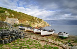 Penberth Cove in Cornwall Royalty Free Stock Images