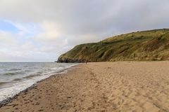 Penbryn Beach, Ceredigion Royalty Free Stock Photography