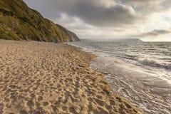 Penbryn strand, Ceredigion Fotografering för Bildbyråer
