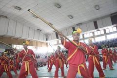 Pencak Silat akcja Zdjęcia Royalty Free