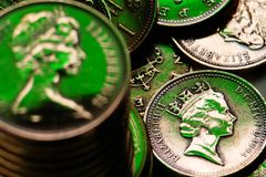 Pence Stock Image