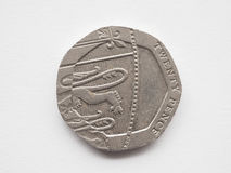 20 Pence coin Stock Photos