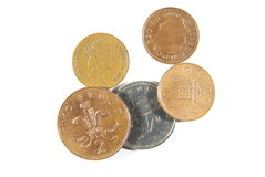 Pence coins Stock Photography