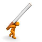 Penchant de nicotine illustration de vecteur