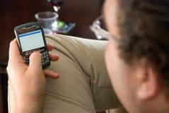Penchant de téléphone portable Images stock