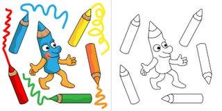 Pencil先生 库存例证