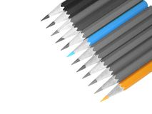 Pencil. Color pencil royalty free stock image