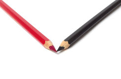 Pencil. Isolated on white background stock image