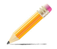 Pencil. Office object education drawing Royalty Free Stock Photo