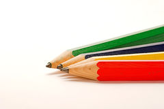Pencil. Chose a with big pencil to write with stock image