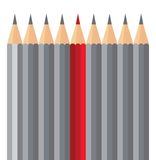 Pencil. Royalty Free Stock Photos