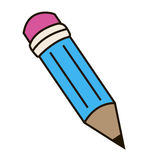 The pencil. Royalty Free Stock Photo