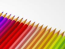 Pencil 3d stock photo