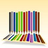 Pencil_1 Arkivfoton