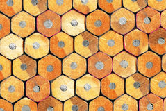 Pencil. Wall from pencils, high clearness Stock Photo