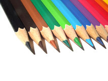 Pencil. Color pencil royalty free stock photography