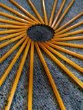Pencil abstract Stock Photo