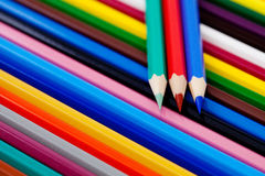 Pencil And Pastel Stock Images