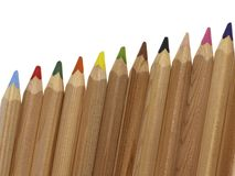Pencil arrangement Stock Photography